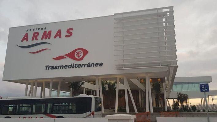 Naviera Armas estrena nueva terminal en el Puerto de Las Palmas de Gran Canaria