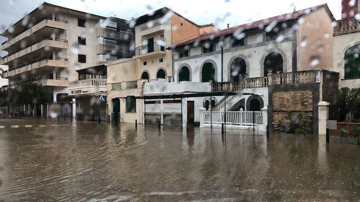 Emergencias gestiona 141 incidentes en Baleares por el temporal
