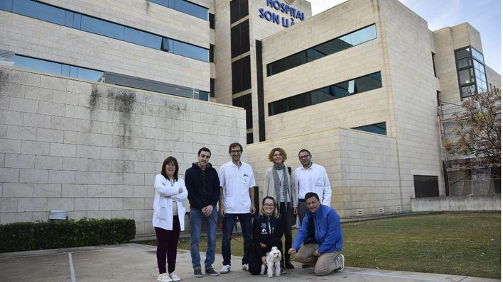 Los pacientes de la UCI de Son Llàtzer pueden recibir visitas de sus animales de compañía