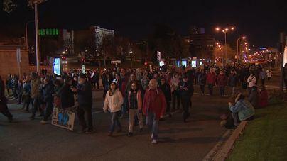 Miles de personas marchan en Madrid contra la emergencia climática