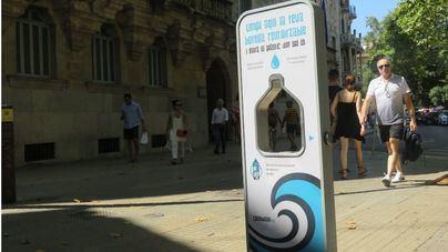 Instalan la segunda fuente de agua filtrada en Palma