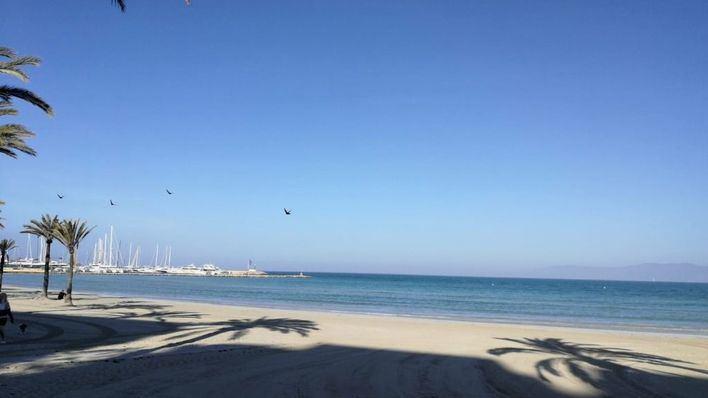 Pocas nubes y temperaturas sin cambios en Baleares
