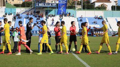 El Atlético Baleares sigue líder tras empatar en Melilla