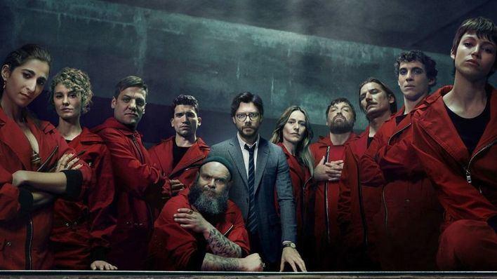 La cuarta temporada de 'La casa de papel' llegará el 3 de abril