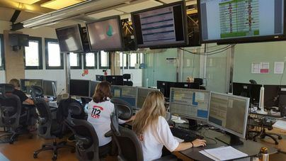 Emergencias atiende 63 incidentes por los fuertes vientos en Mallorca