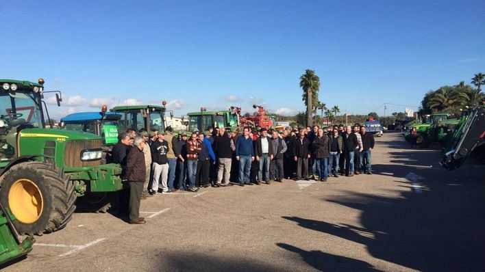 Asaja anuncia movilizaciones y tractoradas ante los ataques al sector agrario