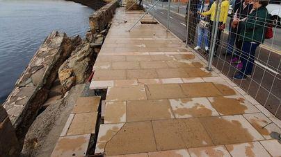 Cort asume el coste de reparación del paseo de Cala Gamba por 185.000 euros