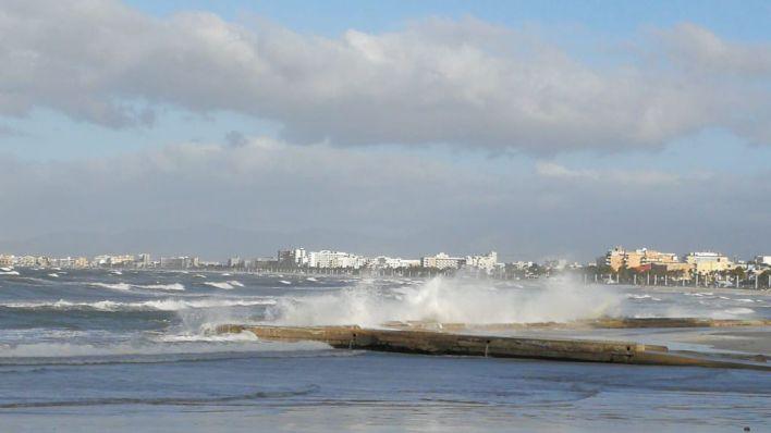 Baleares, en alerta por fuerte viento