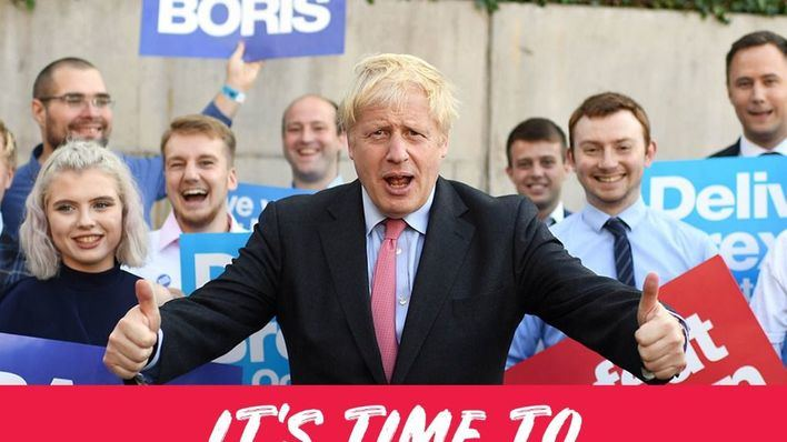 El Reino Unido avala el Brexit con la mayoría absoluta de Boris Johnson