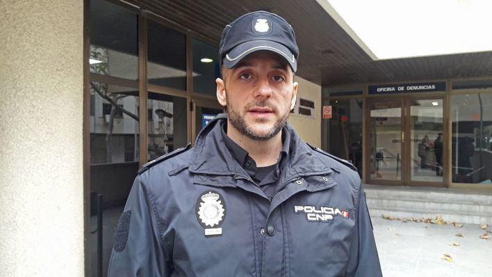 El policía que salvó a una mujer en Palma tras hacerle un torniquete: 'No soy un héroe'