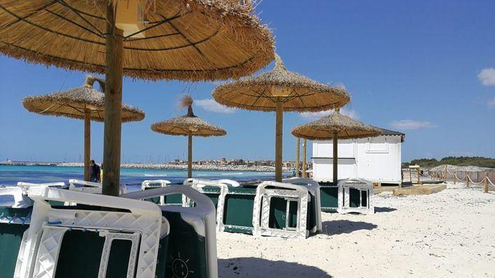 Vientos de hasta 80 km/h y temperaturas estables en Baleares