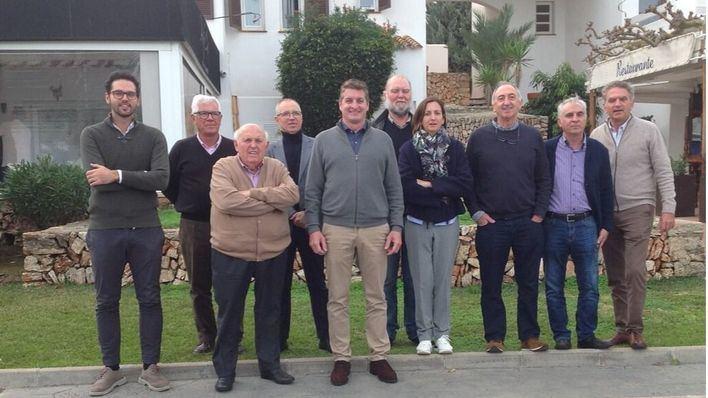Junta Directiva, en el centro Joan Francesc Rigo