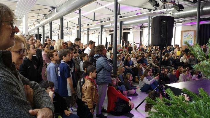 Éxito del mercadillo navideño celebrado en la Fábrica Ramis de Inca