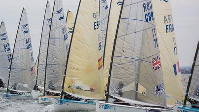 El menorquín Joan Cardona, noveno en la primera jornada del Campeonato del mundo de vela
