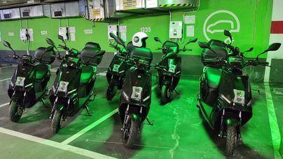 El SMAP incorpora ocho motos eléctricas para reducir la contaminación
