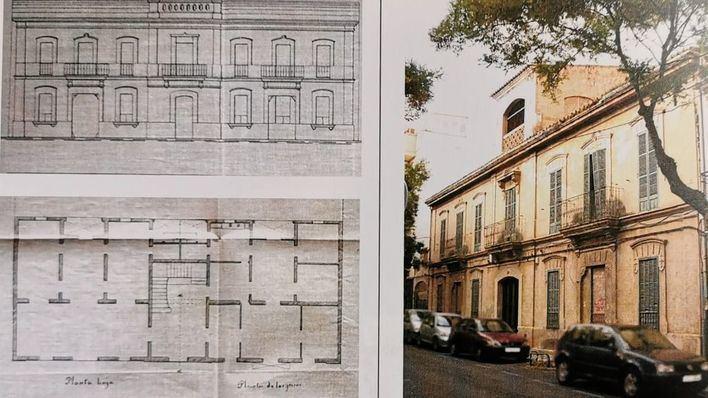 ARCA pide a Cort proteger un edificio de 1905 de la calle Bisbe Massanet