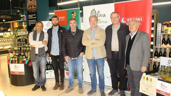 La DOP Oliva de Mallorca y Eroski presentan la primera oliva mallorquina de mesa
