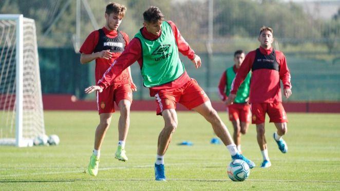 Moreno saca el fondo de armario para el estreno del Mallorca en la Copa del Rey