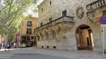 Juicio al exdirigente de sa Fundació Jaume III que derribó un stand de la Assemblea Soberanista