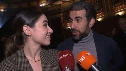 Candela Serrat y Daniel Muriel, muy enamorados