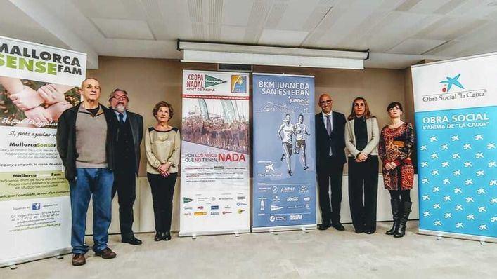 Presentan las carreras solidarias X Copa Nadal y la 8km Juaneda San Esteban