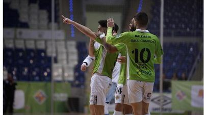 El Palma Futsal arrolla al Santa Coloma por 8-0 con 'póker' de Ximbinha
