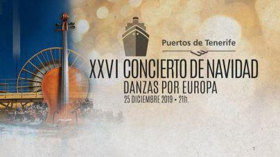 Naviera Armas Trasmediterránea, patrocinador oficial del XXVI Concierto de Navidad de Puertos de Tenerife