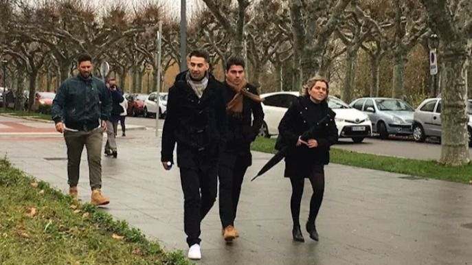 Libertad provisional para los tres futbolistas de La Arandina condenados por agresión sexual