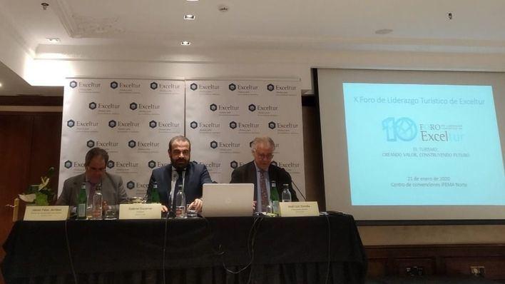 Escarrer pide una mayor consolidación de las empresas turísticas y su presencia en Bolsa