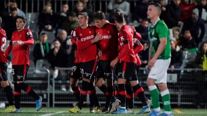 El Mallorca se clasifica al marcar ante el Álamo en el último minuto del partido