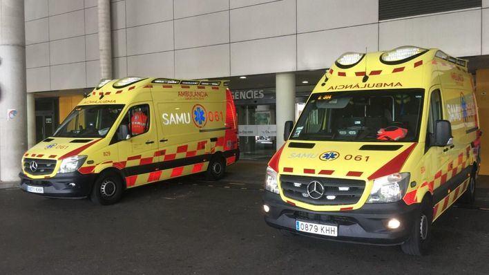 Tres heridos tras colisionar una furgoneta y un coche a la entrada de Palma