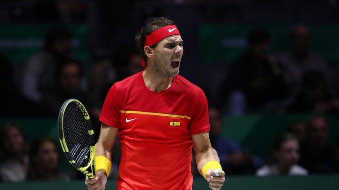 Rafa Nadal, reconocido como campeón del mundo por la ITF en 2019