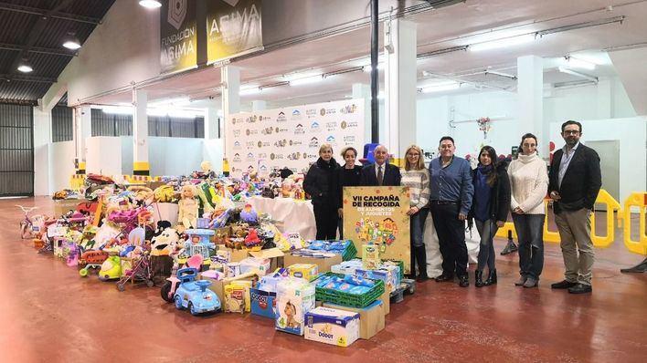 La Fundación ASIMA recoge más de 3.000 juguetes para varias ONG de Mallorca