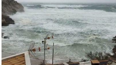 Se mantienen los avisos por fuertes vientos tras registrarse rachas de 95 km/h en Mallorca