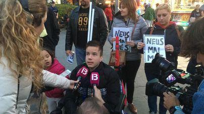 Stop Desahucios se concentra en Palma para exigir una