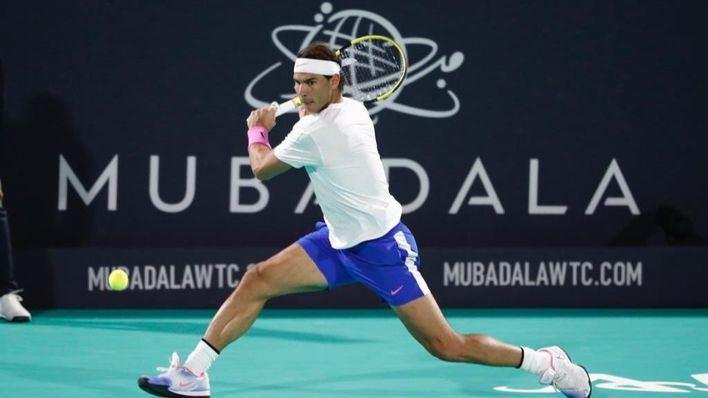 Nadal se lleva su quinto título en Abu Dabi