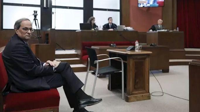 La Junta Electoral Provincial desestima las peticiones de inhabilitar a Torra que presentaron PP, Cs y Vox