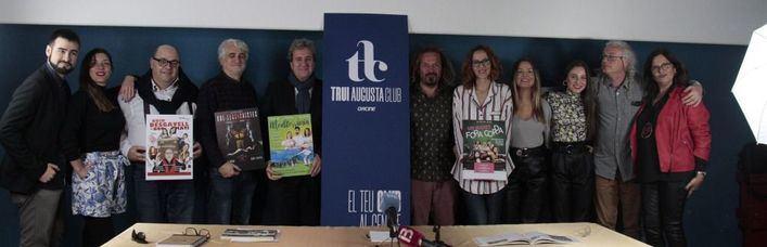 Grup Trui y Aficine aúnan cine, teatro y música en un nuevo espacio cultural en la Sala Augusta