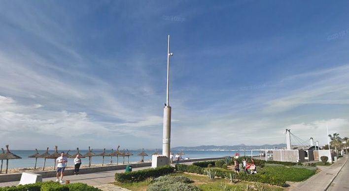 El Ajuntament instalará seis cámaras de videovigilancia en la Playa de Palma