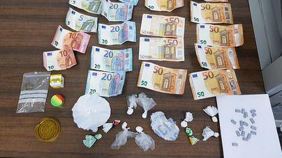 Detenidas tres personas por tráfico de drogas en el polígono de Son Castelló