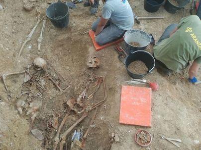 Confirmadas las identidades de dos cuerpos exhumados en las fosas de la Guerra Civil de Marratxí y Calviá