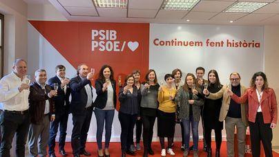 Francina Armengol defiende que el PSIB 'goza de muy buena salud'