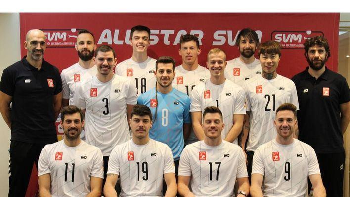 La calidad del Urbia Voley se hace notar en el All Star de la Superliga Masculina
