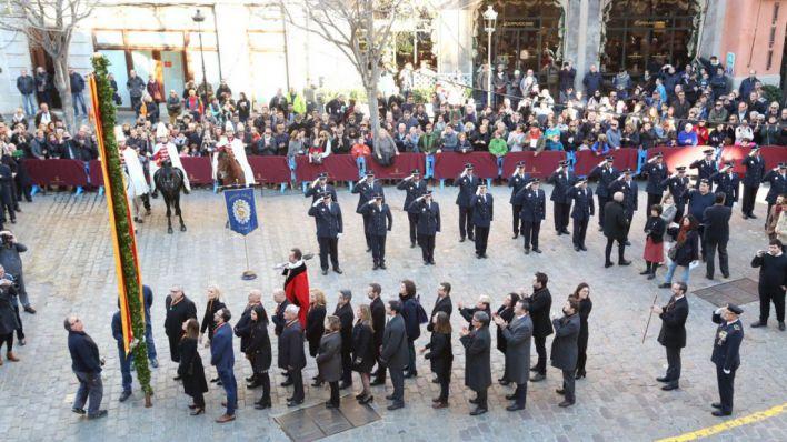 Hila reclama una 'Palma tolerante y cívica' en la Festa de l'Estendard