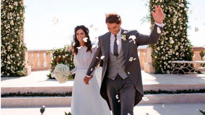Nadal ficha por el Santander y publica una foto inédita de su boda