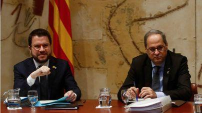 Torra advierte: el pacto entre ERC y PSOE no tiene