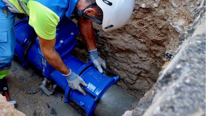 Reducidas a casi la mitad las fugas de agua en la red de Mallorca