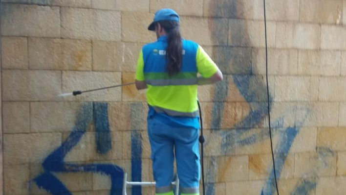1.918 pintadas menos en Palma