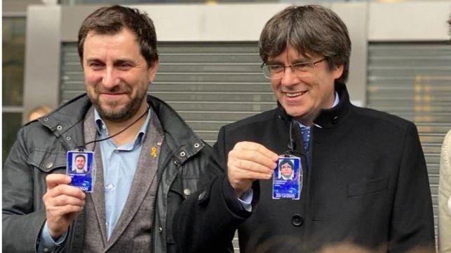 La Justicia belga suspende la euroorden de detención contra Puigdemont y Comín