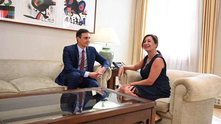 Armengol cree que Sánchez ha pronunciado 'un gran discurso'